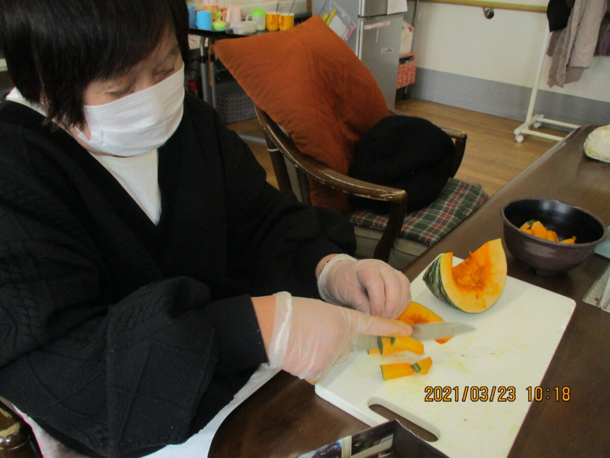 みそ汁作り IN 幸津川デイ